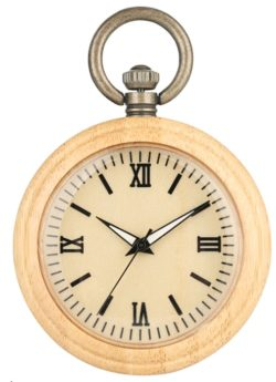 Wooden Pocket Watch