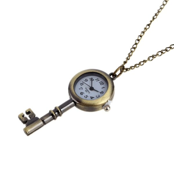 Montre collier Clé
