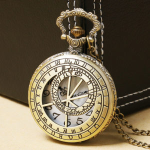 Master of time pocket watch