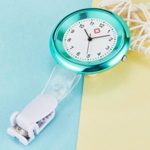 Silicone and zinc nurse watch